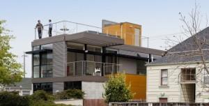 Simpatico Homes rooftop